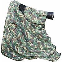 La observación de la fauna ocultan, camuflaje de la caza La fotografía ligera ocultan la bolsa en el bosque verde camuflaje del ejército material del polycotton