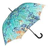 VON LILIENFELD Regenschirm Automatik Damen Kunst Motiv Vincent van Gogh Iris