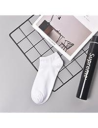 Liuxc Calcetines Los Calcetines de los Hombres los Calcetines Delgados de los Hombres de Color Puro