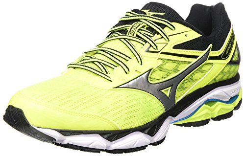 Mizuno Wave Ultima 9, Zapatillas de Running Para Hombre, Multicolor (Safetyyellow/Silver/Black 05), 40.5 EU