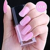 ❀Higlles Vernis à ongles 15ml Semi-permanent Nail Polish UV LED Soak Off Gels Manucure-Brillant/Durable/Pelable vernis à ongles gel