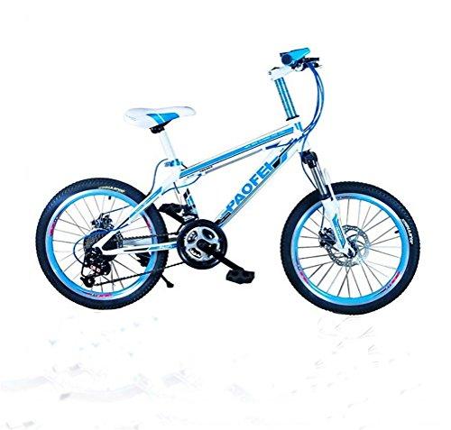 MASLEID Vélos VTT de vélo 20 pouces enfants pour les hommes et les femmes