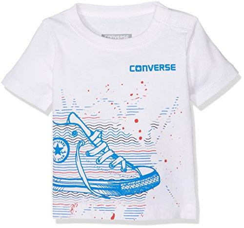 Converse Baby-Jungen T-Shirt Sneaker Splatter Tee