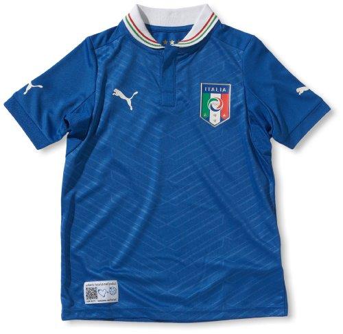 PUMA Kinder Fußballtrikot Italia Home  Replica, team power blue, 164, 740360 01 - Nationalmannschaft Trikot Italienische