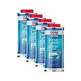 Liqui Moly 4X 25002 Marine Diesel Schutz Anti Bakterien 1L