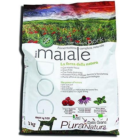 PURA NATURA G.Free Maiale Alimenti Secchi Cane Grain Free Cane Secco