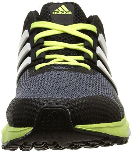 ADIDAS Response Boost 2 Scarpa da Running Donna Grigio (Gris (Onix/Silver Metallic/Frozen Yellow F15))