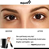 Eyelash Curler- Pro Lash Curler With 4 Refill Pads Long Lasting & Painless Fits All Eye Shapes, No Pinching, Just Dramatically Curled Eyelashes & Lash Line In Seconds In Rose Gold