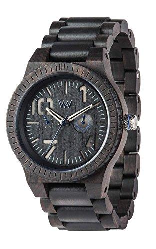 WeWOOD reloj madera/madera multifunción 9818081oblivio azul y negro hombre [Regular importados]