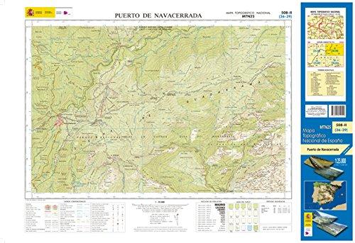 508-2 Puerto de Navacerrada. Mapa Topográfico Nacional 1:25.000 por CENTRO NACIONAL DE INFORMACIÓN GEOGRÁFICA