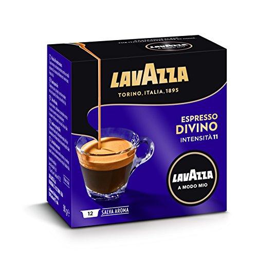 Lavazza a Modo Mio, Cápsulas de café (Divino) - 5 de 12 cápsulas (Total 60 cápsulas)