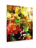 Abstrakte Malerei - Hand auf Leinwand Gemalt - 60x75 cm - Textil-Leinwandbild auf Keilrahmen - Wand-Bild - Kunst, Gemälde, Foto, Bild auf Leinwand - Abstrakt