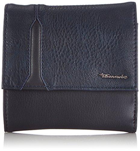 Tamaris YOKO Small Wallet with Flap 7050142-805 Damen Geldbörsen 12x11x2 cm (B x H x T), Blau (navy 805) (Kleine Flap Tote Tasche)