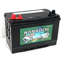 Hankook 90Ah Loisirs Batterie - Caravane, Bateau, Camping, Marine - 4 Ans de Garantie