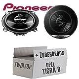 Opel Tigra B Twin Top - Lautsprecher Boxen Pioneer TS-G1330F - 13cm 3-Wege 130mm Triaxe 250W Auto Einbausatz - Einbauset