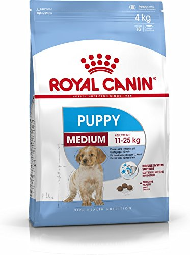 Royal Canin 35215 Medium Puppy 4 kg - Hundefutter -