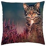 Scottish wildcat - Throw Pillow Cover Case (18