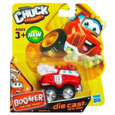 Tonka Chuck & Friends - Boomer The Fire Truck - Die Cast Metal Truck