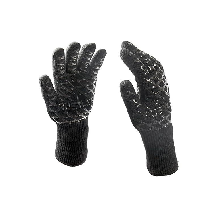 grillhandschuhe schwarz