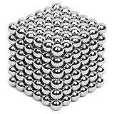 Magnetisches Zappeln-Spielzeug, rollbarer magnetischer Würfel, verbessern Intelligenz und maginationi, bauspielbares Skulptur-Spielzeug mit tragbarer Tragetasche für Stressabbau