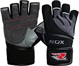 RDX Gym Fitness Gewichtheben Handschuhe Herren Bodybuilding Workout Sports Trainingshandschuhe