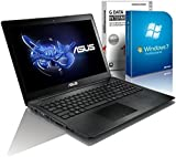 ASUS 55xMA (15,6 Zoll) Notebook (Intel Pentium N3540 Quad Core 4x2.16 bis zu 2.58 GHz, 8GB RAM, 750GB S-ATA HDD, Intel HD Graphic, HDMI, Webcam, USB 3.0, WLAN, DVD-Brenner, Windows 7 Professional 64 Bit) #4830