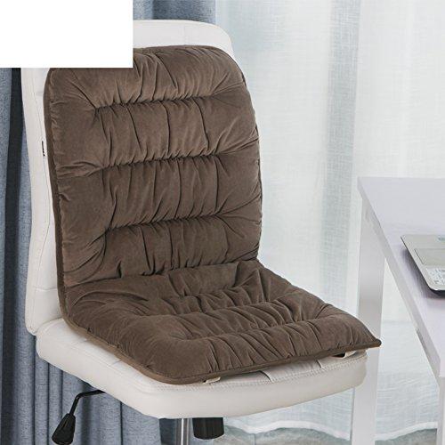 Volltonfarbe verdicktes sitzkissen,Winter plüsch anti-rutsch-büro stuhl pad student kissen auto warm sitzkissen esszimmer stuhlabdeckung-D 40x80cm(16x31inch) (Stuhl-kissen 16x16)