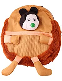 JBB Original Cute Teddy Soft Toy School Bag For Kids, Travelling Bag, Carry Bag, Picnic Bag, Teddy Bag (Cute Brown).