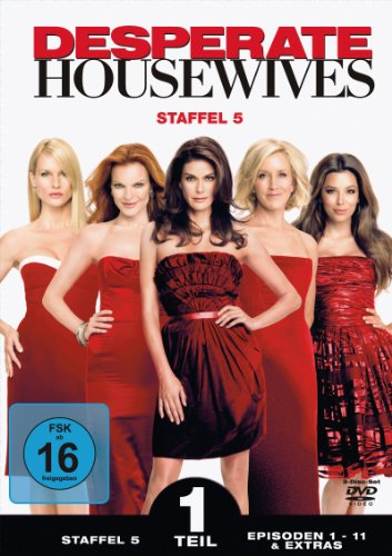 Touchstone Desperate Housewives - Staffel 5, Teil 1 [3 DVDs]