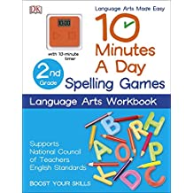 10 Minutes a Day: Spelling Games, Second Grade