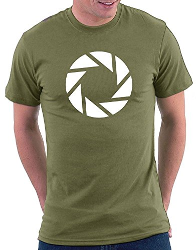 Aperture Logo Portal T-shirt Khaki