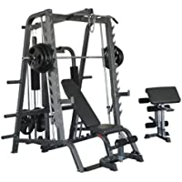Bodymax CF484/CF680T Deluxe Smiths System with Weight Stack