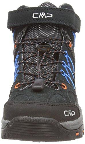CMP Rigel Jungen Trekking-& Wanderstiefel Grau (ANTRACITE-CHINA BLUE-FIESTA 725P) fl1Vlz