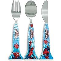 Spider-Man Marvel Cutlery Set, Blue