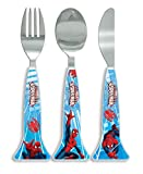 Marvel Spider-Man Cutlery Set, Blue