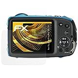atFoliX Schutzfolie für Fujifilm FinePix XP130 Displayschutzfolie - 3 x FX-Antireflex blendfreie Folie