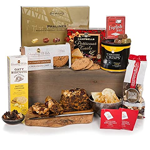 Teatime Delights Hamper - Luxury Food Gift Hampers For Him or For Her, Birthday & Special Occasions