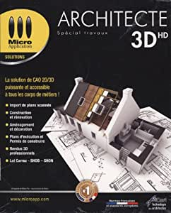 Architecte 3d hd logiciels for 3d architecte micro application