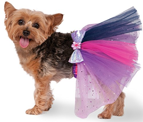 Rubies Costume 580497 _ M-L MY LITTLE PONY Twilight Sparkle Pet Tutu, (Hunde Little Für Pony My Kostüm)