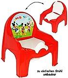 alles-meine.de GmbH 2 in 1: Nachttopf + Kinderstuhl _ Töpfchen / Nachttopf -  Disney Mickey Mouse..