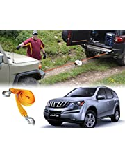 Auto Pearl - Car Auto Towing Tow Cable Rope Heavy Duty 3 Ton 2.65Mtr for - XUV 500