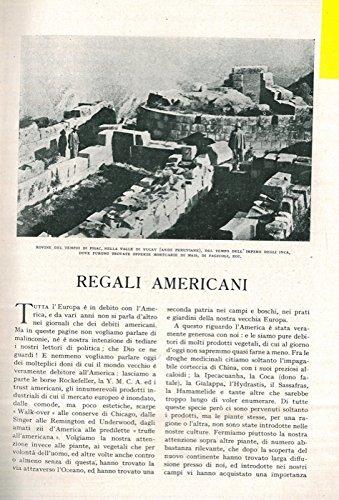 Regali americani. (Regal Americana)