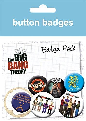 GB eye LTD, The Big Bang Theory, Character Icons, Pack de Chapas