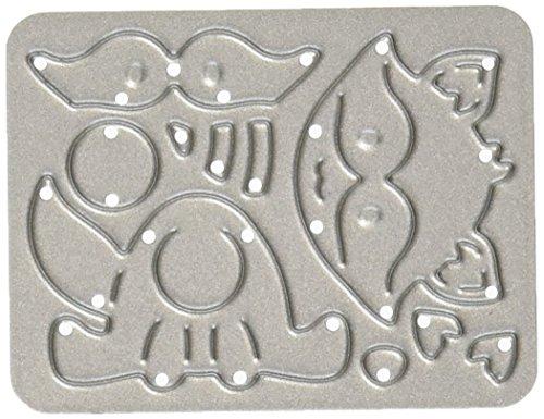 Cottage Cutz Metall die-Baby Waschbär, 2,8cm x 1.3-inch -