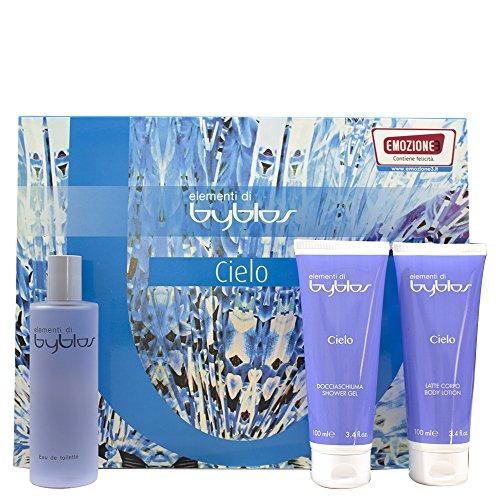 Byblos - Cofanetto cielo - eau de toilette 120 ml + shower gel 100 ml + body lotion 100 ml