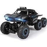 IBalody Grand 6WD RC Voitures Tout-Terrain 1/12 Haute Vitesse RTR Buggy Monster Truck 2.4 Ghz Électrique Jouets Télécommande 50 M Escalade Tout Terrain Terrain Voiture sur Chenilles Cadeau
