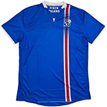Island-Trikot, Fußball, 2016 / 2017, in Blau