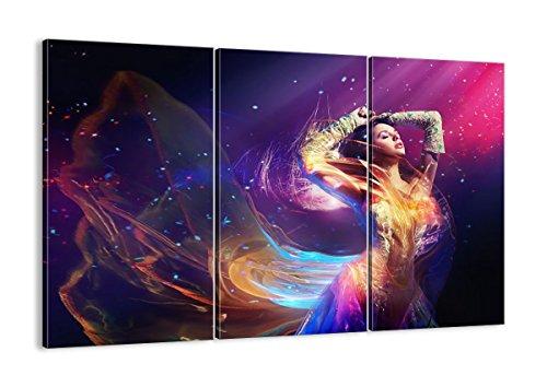 Leinwandbilder - DREI Teile - Breite: 105cm, Höhe: 70cm - Bildnummer 2143 - dreiteilig - mehrteilig - zum Aufhängen bereit - Bilder - Kunstdruck - CE105x70-2143 ()
