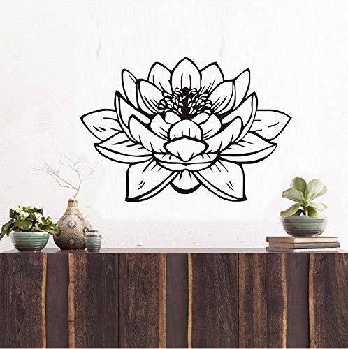 Knncch Hohe Qualität Schöne Lotus Wandaufkleber Lila Design Pvc Aushöhlen Wohnkultur Diy Kunst Wandbild Für Badezimmer Wohnzimmer Dekor