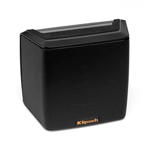 Klipsch Groove BT tragbarer Bluetooth Lautsprecher, Farbe: schwarz